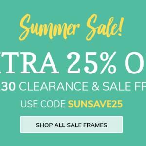 Summer Sale - Homepage Banner Graphic