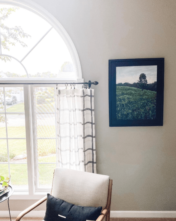 two ways to hem curtains without sewing