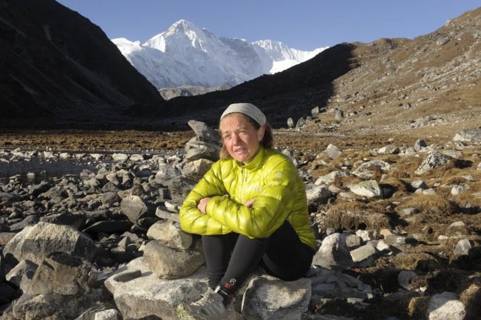 at Gokyo, Cho Oyu (8201m) behind, November 2011