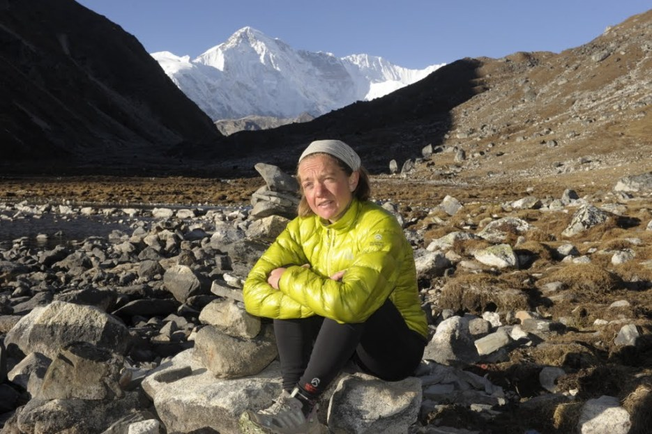 at Gokyo, Cho Oyu (8201m) behind, November 2011