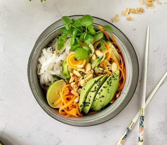 Aziatisch Getinte Salade