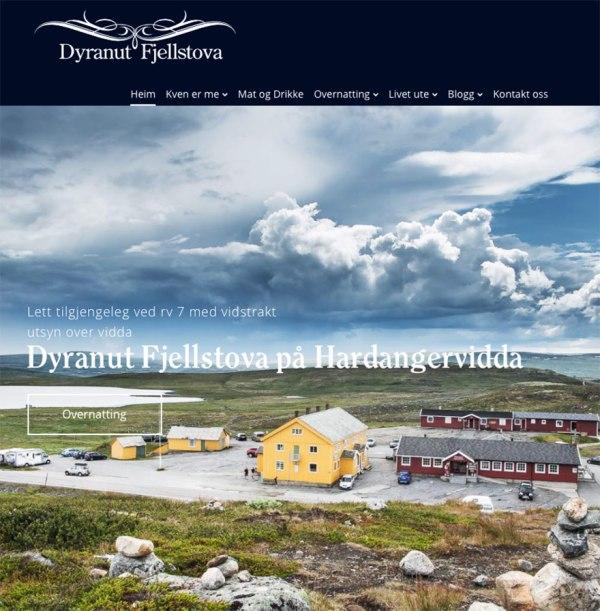 Dyranut Fjellstova oversiktbilde