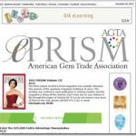 LJD Jewelry Designs featured in AGTA Prism Magazine November 2013