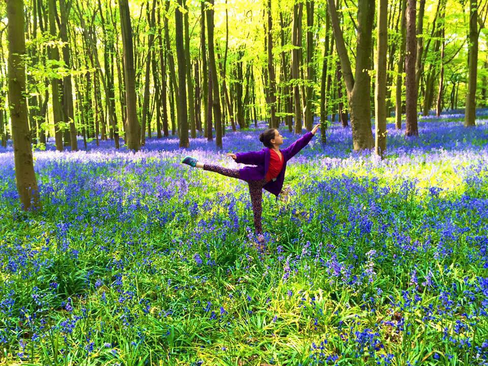 Dancing through Bluebells