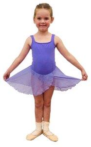 lilac skirt leotard