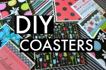 DIY Coaster Tiles