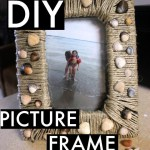 DIY Sentimental Picture Frame (A Day at the Lake)