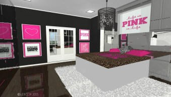 Victoria's Secret PINK Inspired Bedroom