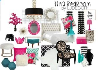 """Tina"" Bedroom- Design Board"