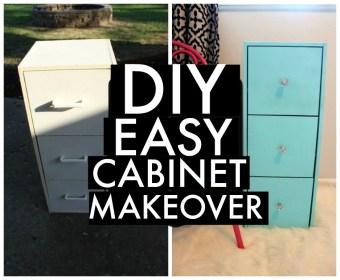 DIY: Easy Cabinet Makeover
