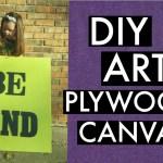 DIY Plywood Wall Art : PLAYROOM