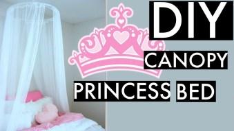 "DIY Canopy-""Princess Bed""- Bedding"