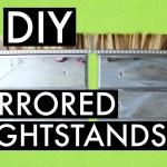 DIY Mirrored Nighstands -Zgallerie Inspired