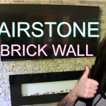 DIY AirStone Veneer Brick Accent Wall