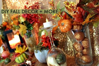 DIY FALL DECOR + MORE