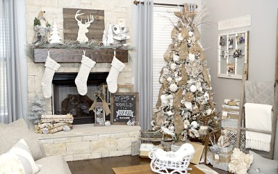 Rustic / Neutral Christmas Decor