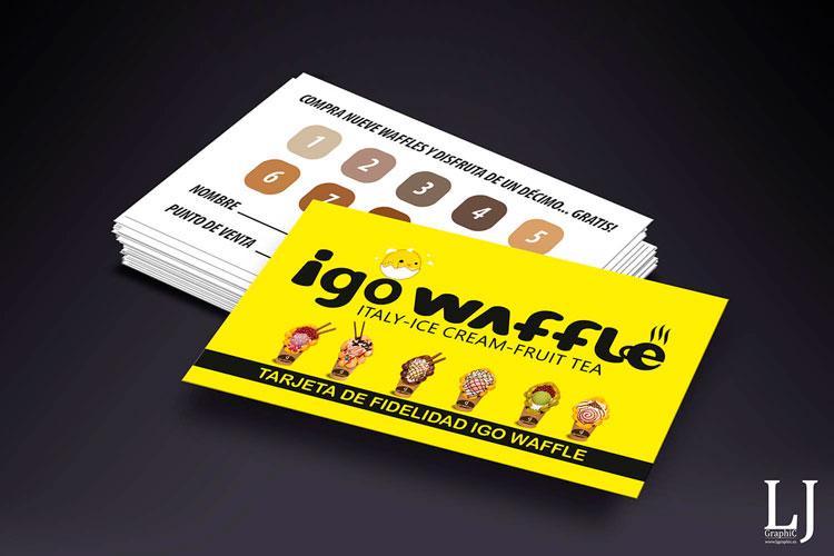 Diseño e impresión de tarjetas de visita plastificadas