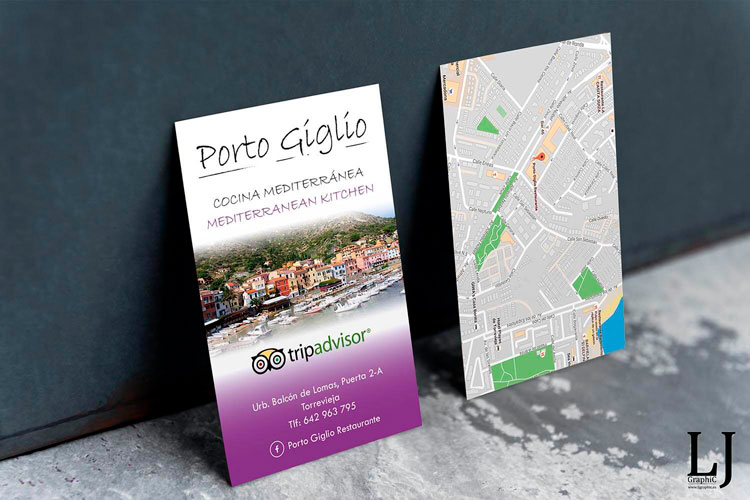 Diseño e impresión de tarjetas Torrevieja