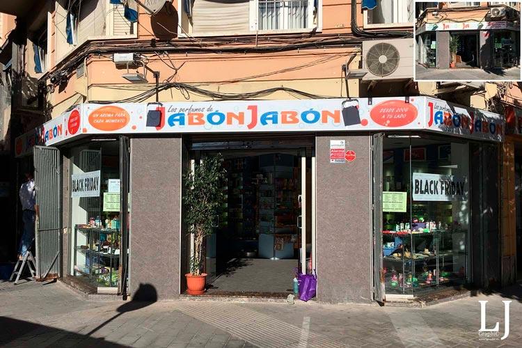 Rotulación local en Alicante