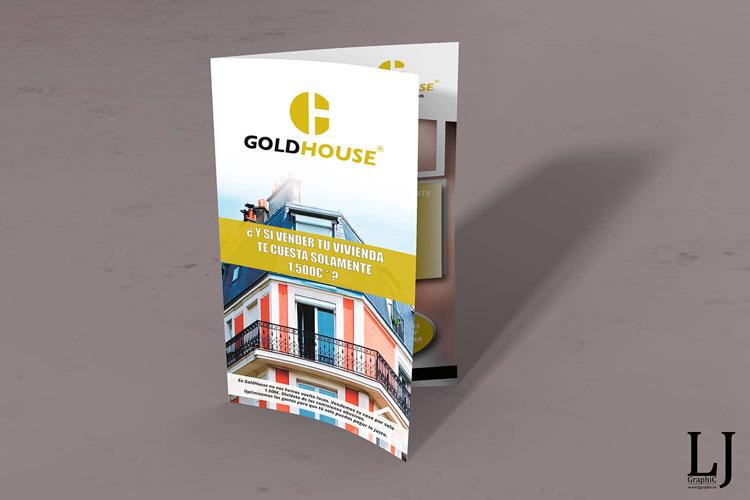 Dipticos Gold house