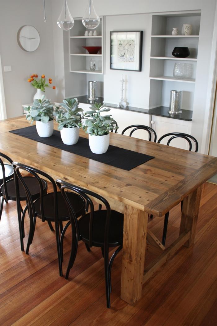 les tables rustiques sont une solution