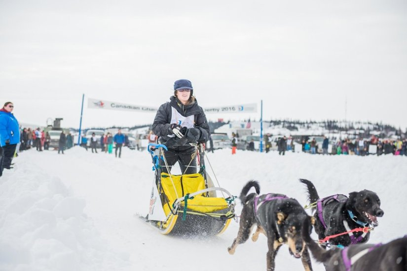 2016 Race Start | Yellowknife Online