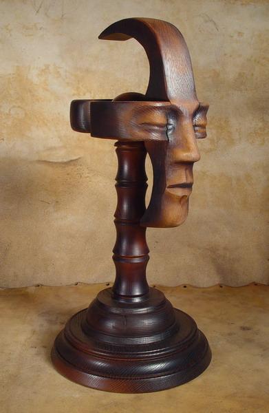 Bob Basset Steampunk Mask and Stand