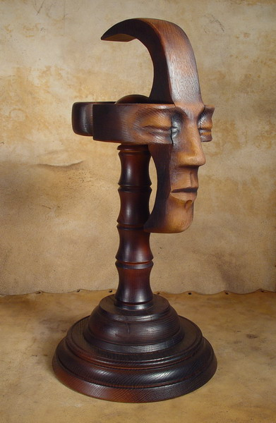 Bob Basset Steampunk Mask and Stand