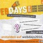 WebDays 2016
