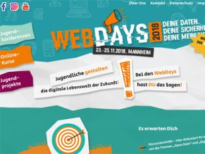 Jugendkonferenz WebDays
