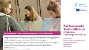 Europäische Solidaritätskorps