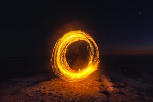 igra vatrom - ljubić
