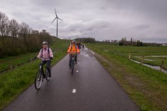 This is a bicycle path