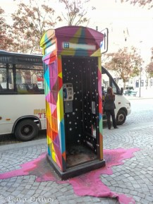 Telefonkiosk Porto
