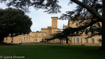 Osborne House and garden