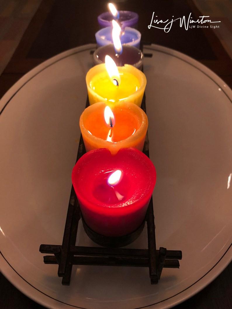 01 opening night chakra candles