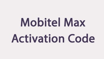 Mobitel Max - Prepaid SIM - Couple SIM, Data SIM, Voice Packages
