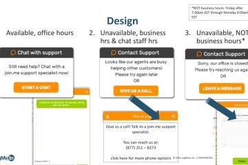 Live Chat UX Design