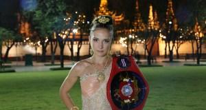 Валерия Дроздова, чемпилнка мира по тайскому боксу
