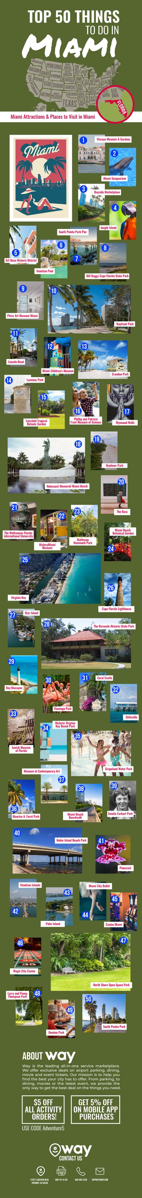 Top-50-Things- to-Do-in-Miami-infographic-lkrllc