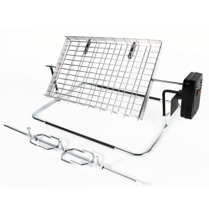 115-1 rotisserie large flat basket and spit