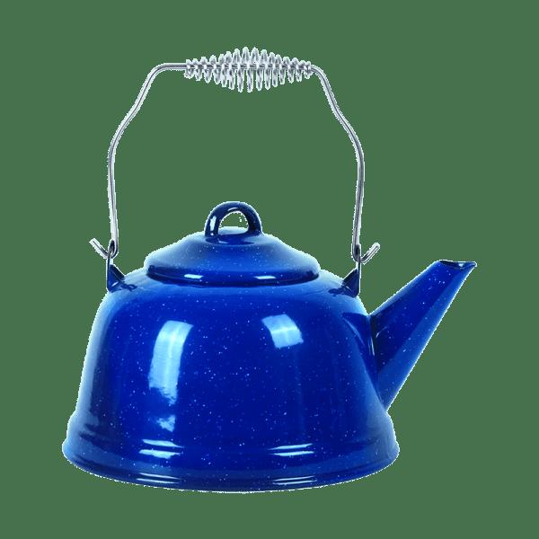 225-302 Blue Enamel Tea Pot