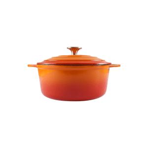 160-010 - orange rond casserole 1