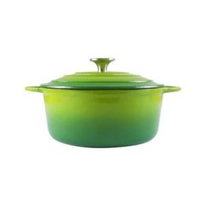 160/012 - Green Round Casserole