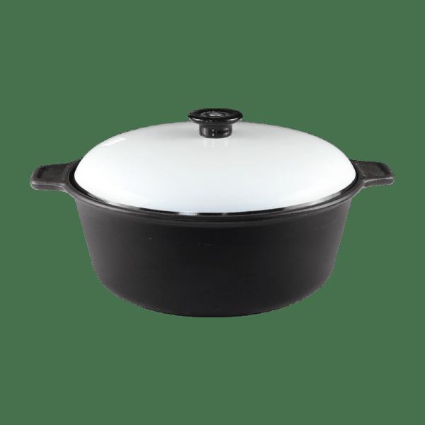 144-84 Chef Supreme Casserole White