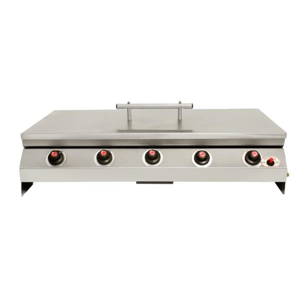 705-035 - Slimline built-in 5-burner front view