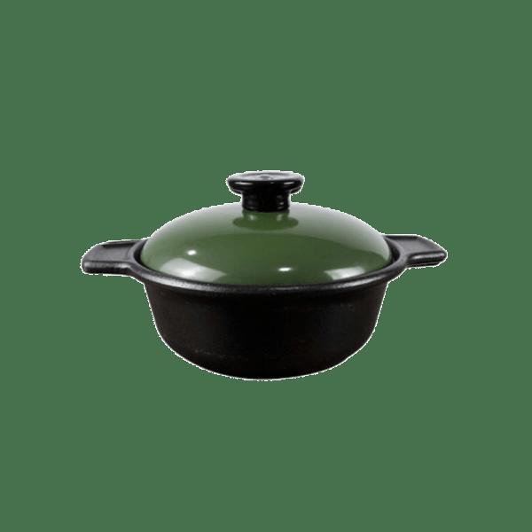 Supreme Round Casserole # 8 [Green]