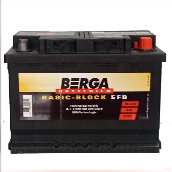 70AH 7600EN EFB BERGA