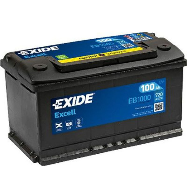 100AH EXCELL EXIDE EB1000
