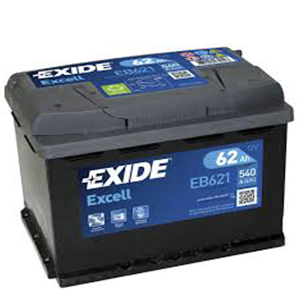62AH EXCELL EXIDE